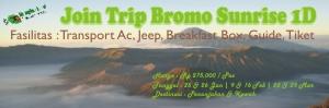 Trip Bromo 1D