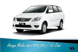 sewa mobil innova di Malang